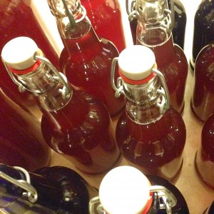 Blueberry Ginger Kombucha