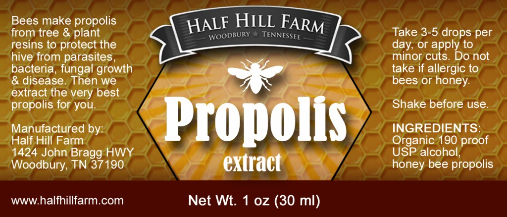 The health benefits of honey bee propolis extract | Half