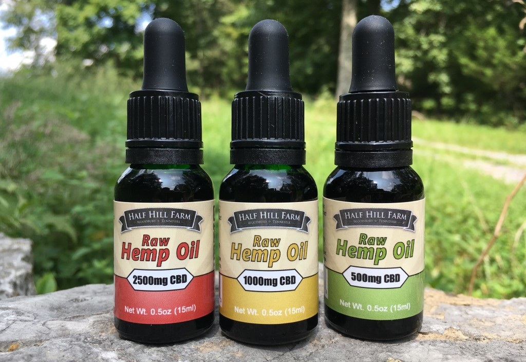Made in Tennessee: CBD full spectrum extract hemp oil | Half Hill Farm